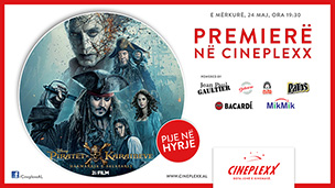 Premierë - Pirates of the Caribbean: Dead Men Tell No Tales